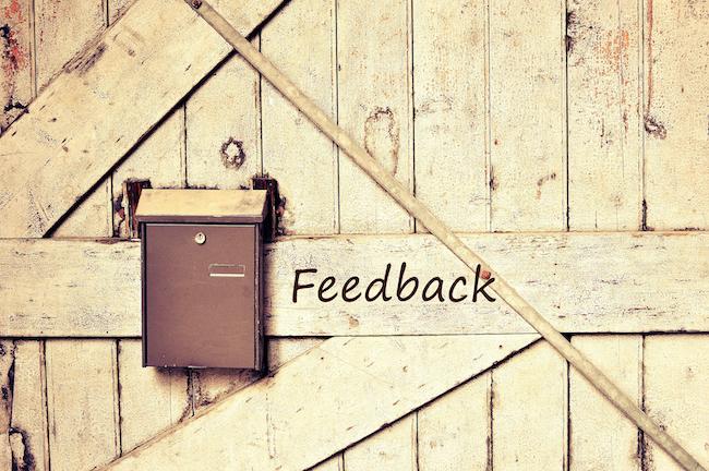 Varken feedback eller kritik har något egentligt värde