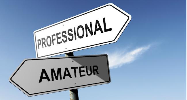 Proffs eller amatörer?